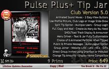 Music Pulse Plus Tip Jar - Club Version