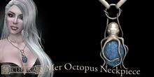 Eclectica Octopus Neckpiece-Turquoise