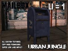 MAILBOX - MESH - URBAN JUNGLE