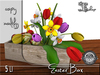 Terrashop-Easter Box with Eggs and Flowers MC