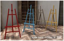 LISP - Mesh - Adele Easels - Texture Change 7 Colors - 1li