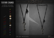 KOSH- THE KEY NECKLACE