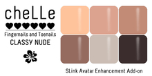 cheLLe - Classy Nude #6 SLink AE Nails
