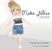 [OH] Make Noise Outfit - only for baby