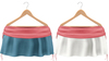 Blueberry Rori *Mesh* -HUD Controlled- Side Tied Skirts Pink