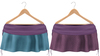Blueberry Rori *Mesh* -HUD Controlled- Side Tied Skirts Purple