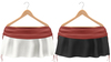Blueberry Rori *Mesh* -HUD Controlled- Side Tied Skirts Red