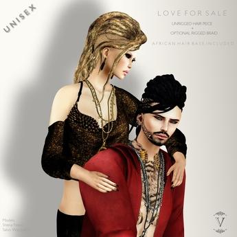 Vanity Hair::Love For Sale Demo(Box)