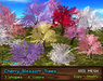 21strom: Cherry Blossom Trees - 18 mesh trees in 6 colors