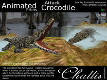 (Challis) Animated Attack Crocodile (BOXED) (MC)