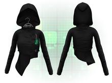 F.A.D. // Nii Hooded Apoc Jacket Black