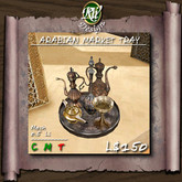 * Arabian Market Tray (boxed) - 0.5 LI high detailed and precisely textured mesh decor
