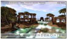 !Pandemonium - Lost Lagoon - 4096 Parcel Ruins Prefab