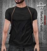 [Deadwool] Marlon T-shirt - black