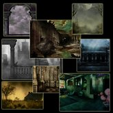 8 gothic background pictures