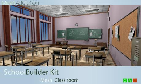 [MA] Mesh School skybox builder kit (boxed)