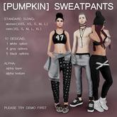 [Pumpkin] Sweatpants (grey; DEMO)