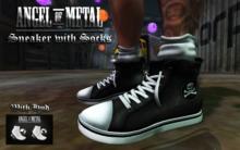 .:Angel of Metal:. Sneaker with Socks