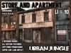 STORE AND APARTMENT - MESH - URBAN JUNGLE