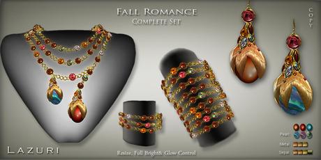 [< Lazuri >] Fall Romance Complete Set - SALE