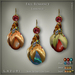 Lazuri fall romance earrings 512