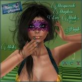 Masquerade Morpheus Purple Lace Mesh Mask