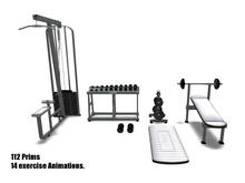 Fitness-Gym-White