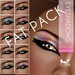Oceane Metallix 2 Eyeshadows - Caleidoscope Cat Fat Pack