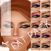 Oceane - Diva Cat Eyeshadows Fat Pack [classic layers]