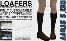 Rei's Stuff - Loafers for Avatar 2.0