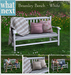 {what next) Bramley Bench - Fall (boxed)