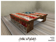 """""""COMICS"""" Coffee Table  by """"Sources""""  PG - MESH - Copy - BOX"""
