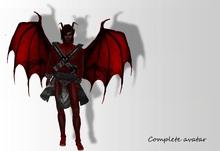 ^^Complete avatar ~ Damion^^Full demon avatar^^