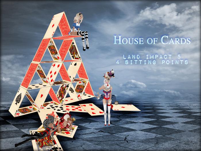 Boudoir -Wonderland House of Cards