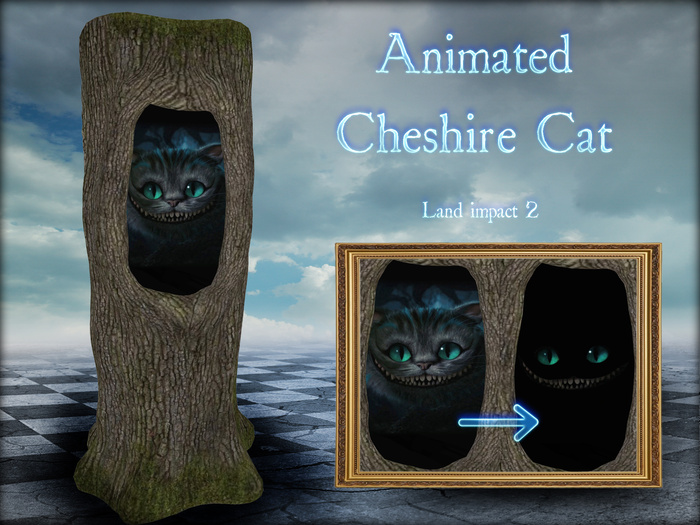 Boudoir-Animated Cheshire Cat