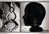 GeWunjo : ASYA black earrings