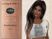 {SD} GRIP & RIDE T-SHIRT