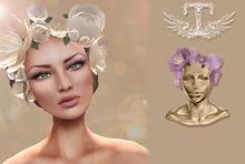 TOPAZIA- Evy Crown flower ( mallow )