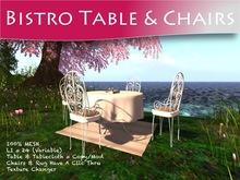 Moco Emporium ~ Vintage Bistro Table & Chair Set