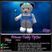 Princess Teddy Bear Tipjar