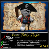 Pirate Teddy Bear TipJar