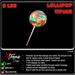 Lollipop tipjar