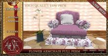 ALESTA << PROMO: Mesh Flower Armchair Full Perm