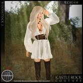 :KR: Woodstock 2 Dress - Cream
