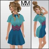 M&M-PIC NELI DRESS MESH-