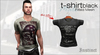 Instinct - Tshirt - fitted mesh - Black