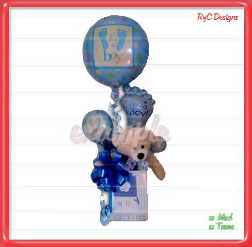 It's a Boy balloon with Bear Dollarbie