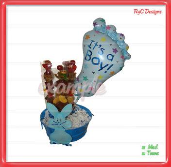 It's a boy balloons Dollarbie