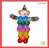 Payaso de Globos / Clown balloons Dollarbie