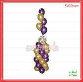 Columna globos / column of balloons Dollarbie